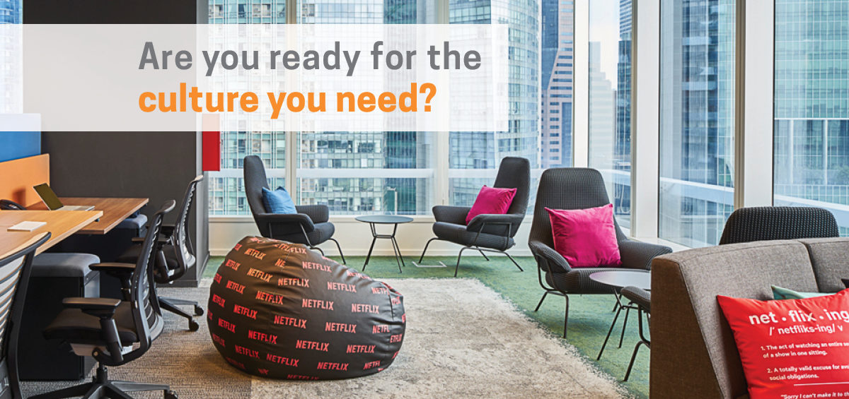 Header image of empty office: Are You Ready for the Corporate Culture You Need?