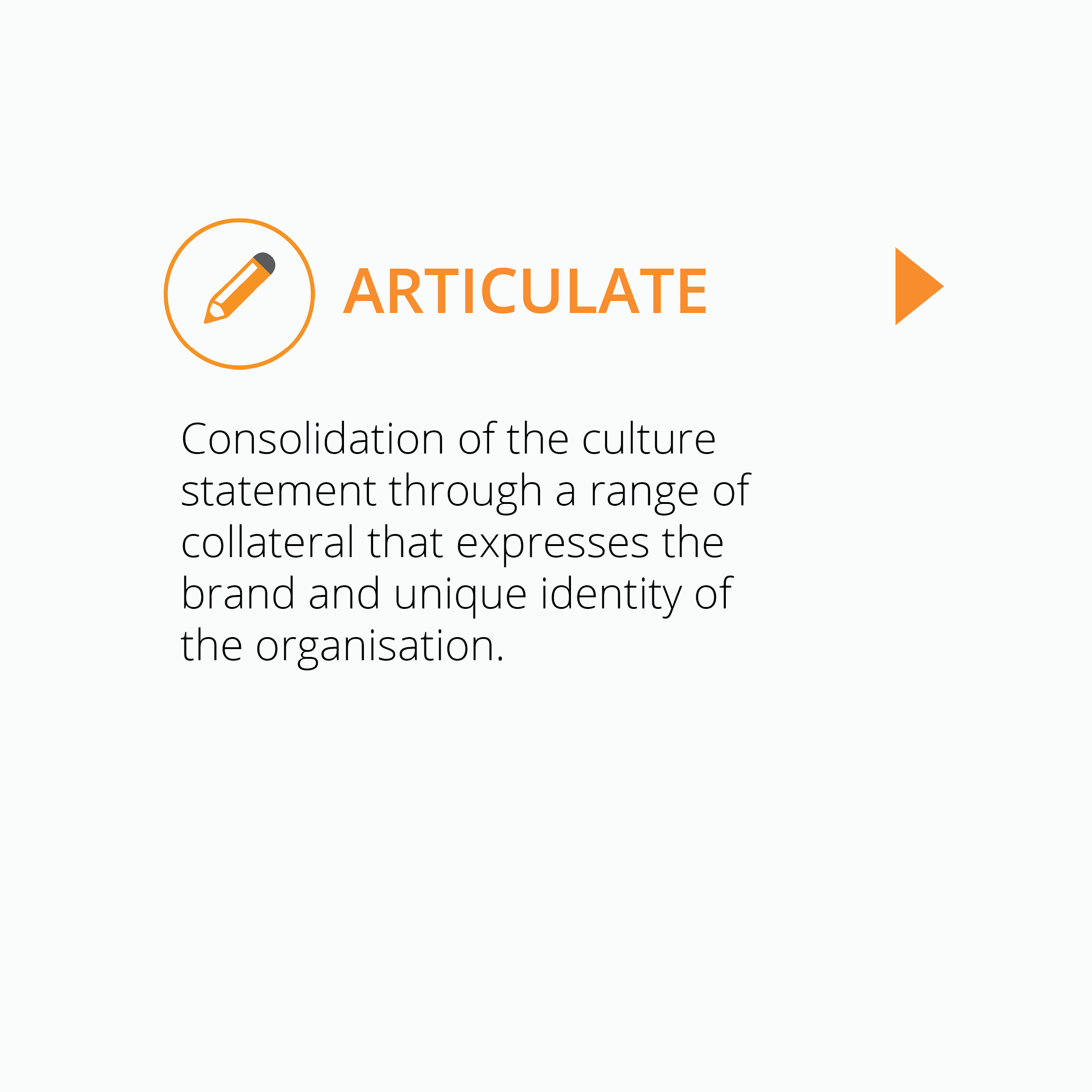 Square image for Articulate - culture capture project by Corporate Edge