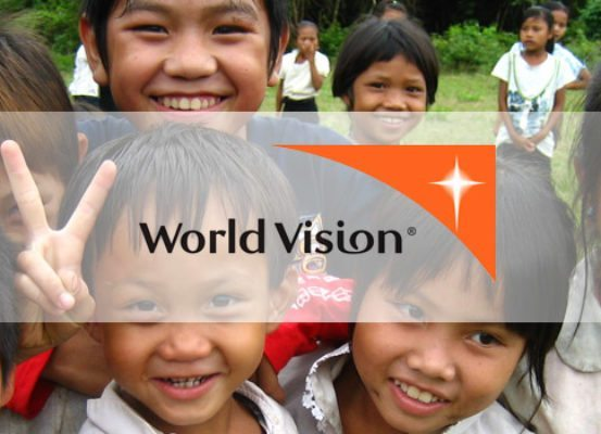 Children supported by World Vision, who we proudly support in delivering our online module on feedback to their employees across the globe