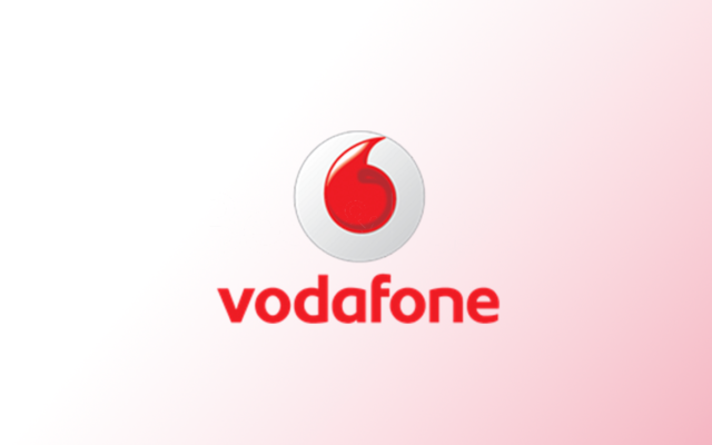 Vodafone logo - a client of culture alignment organisation, Corporate Edge