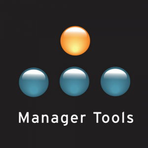 Thumbnail for a podcast for leaders - Manager Tools
